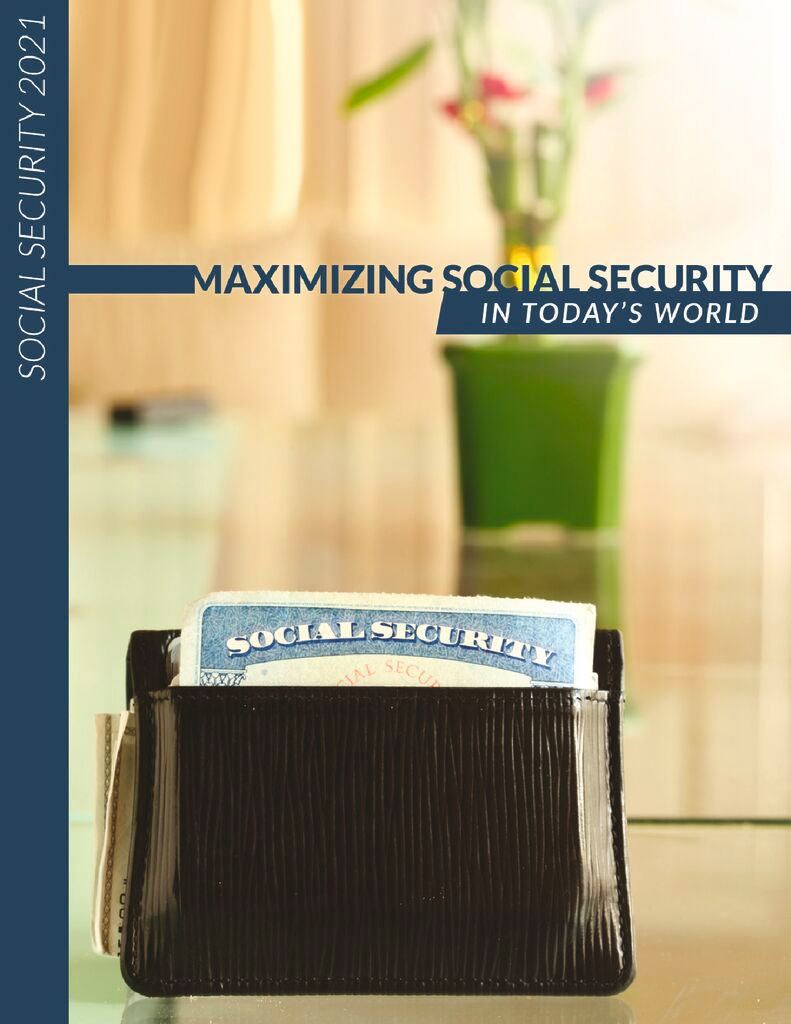 Maximizing Social Security in Today's World Guide