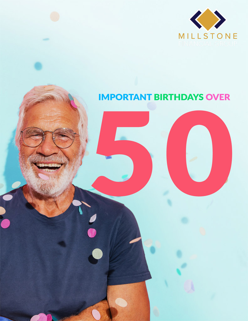 Important Birthdays over 50 Guide